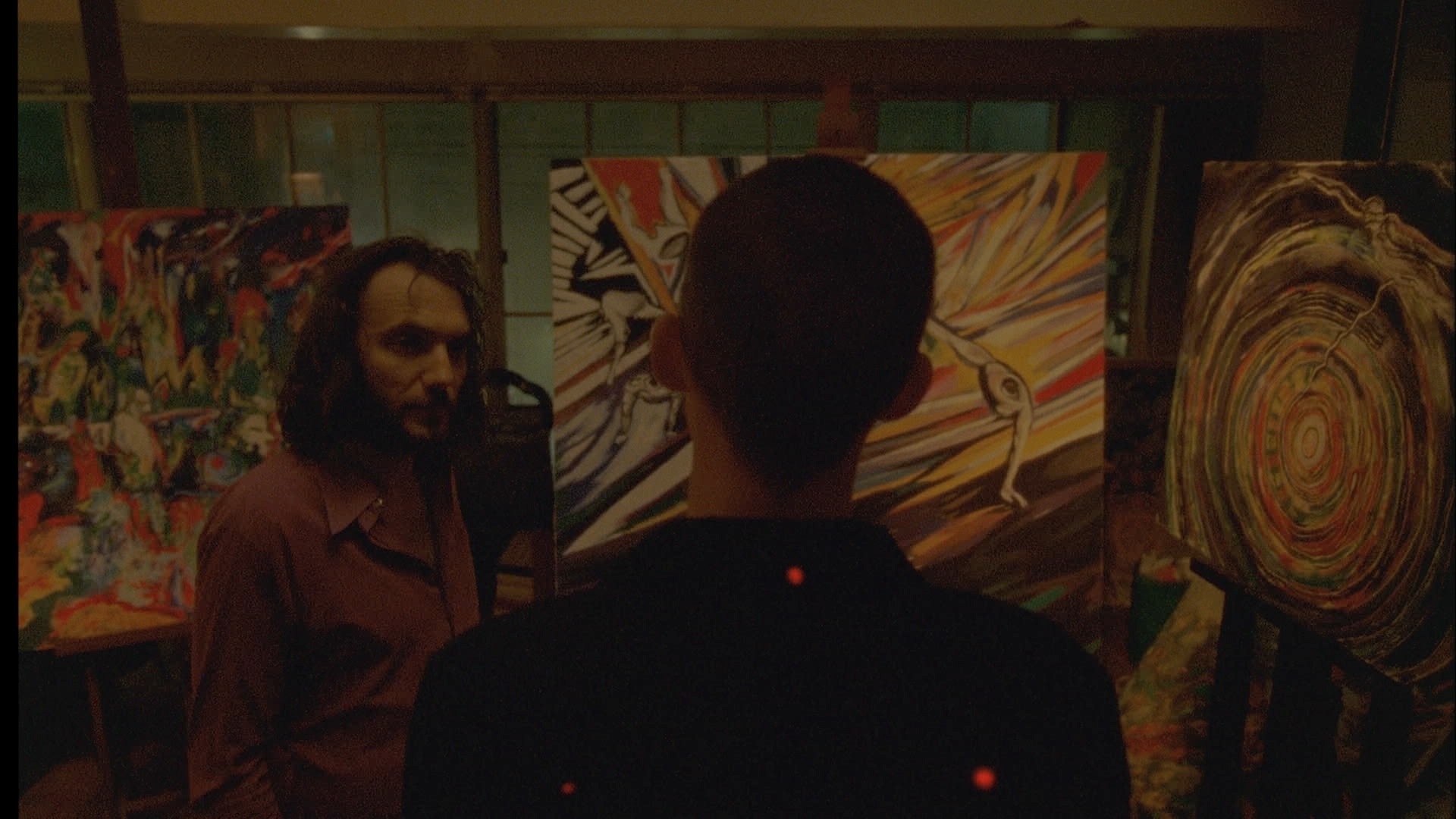 """enter the void film review Gaspar noé's """"enter the void"""" takes viewers on a trippy out-of-body flight above tokyo through the point of view of a movie review 